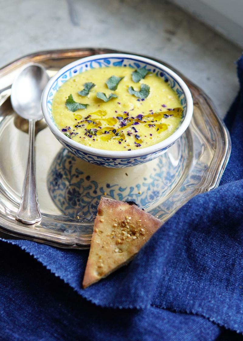 maissikeitto, kylmä keitto, gazpacho