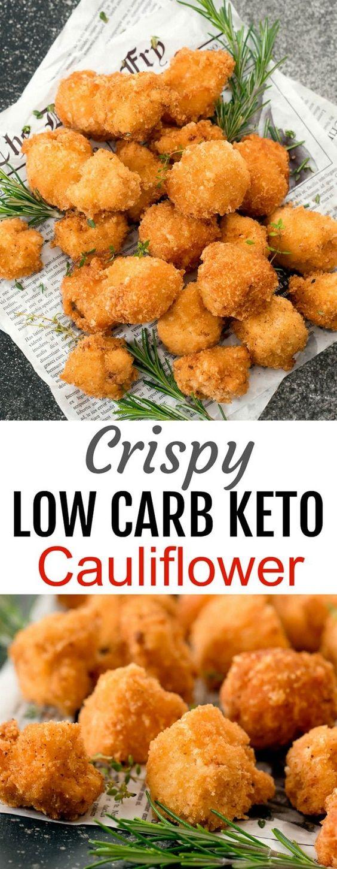 Crispy Low Carb Keto Cauliflower