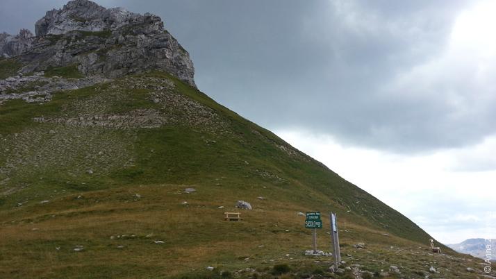 Перевал в парке Дурмитор, Черногория