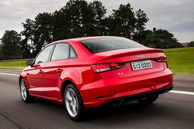 Novo Audi A3 Sedan Flex 2017 chega ao Brasil com facelift