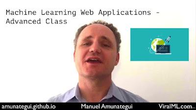 Machine Learning Web Applications - Advanced