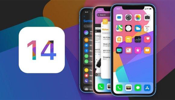 مميزات في الإصدار iOS 14