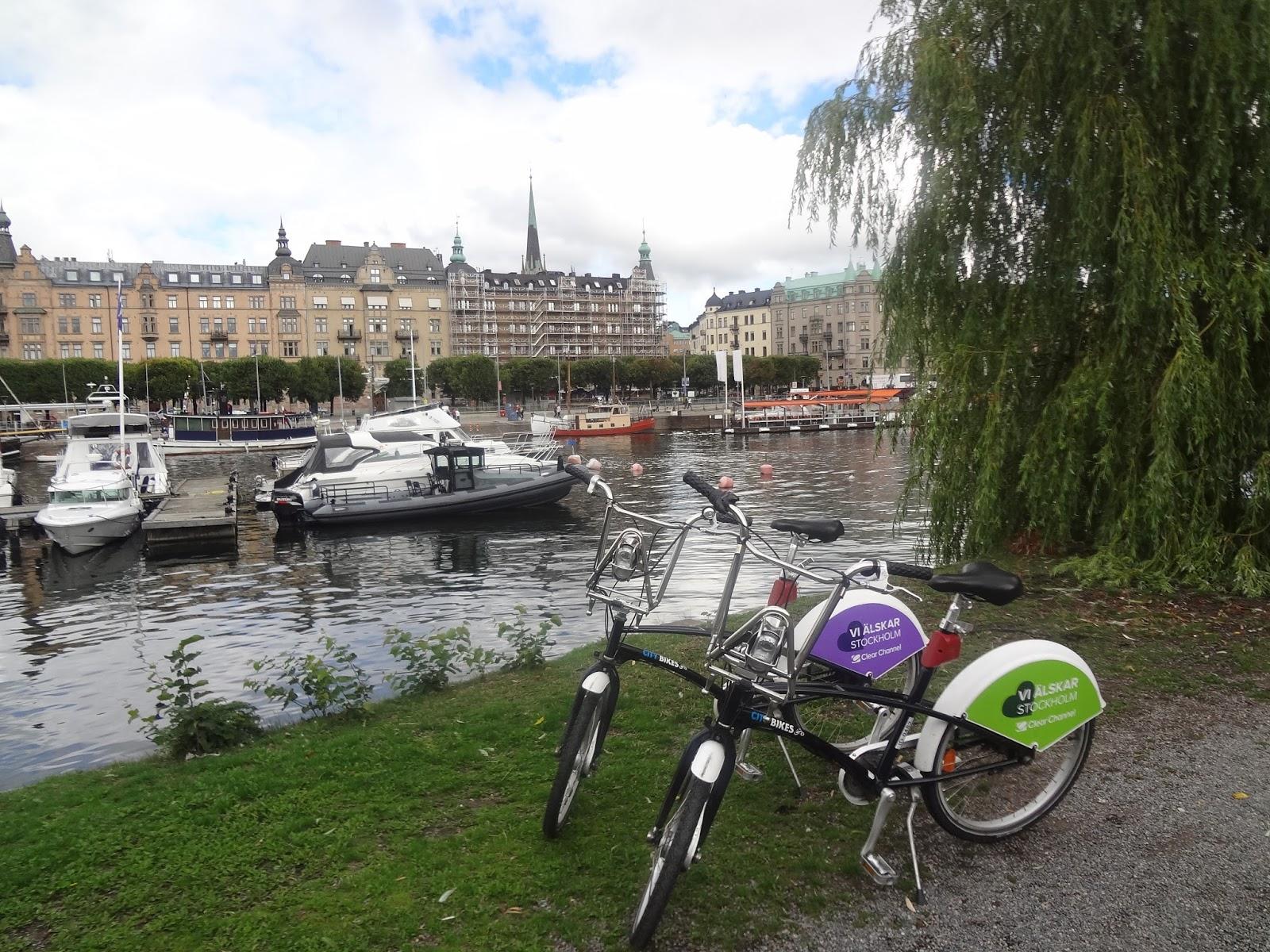 city bike à stockholm