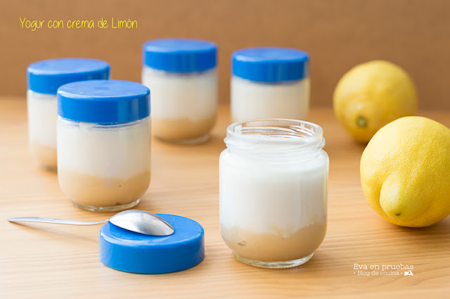 Yogur con Crema de Limón
