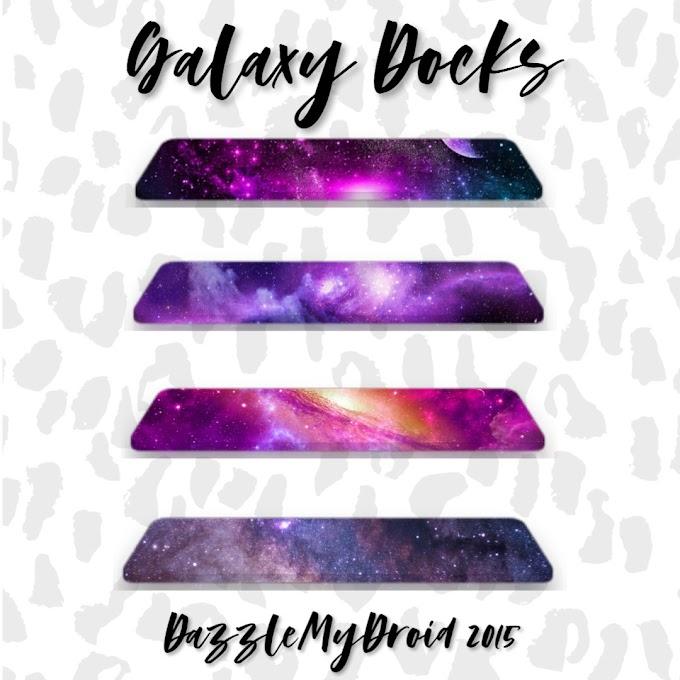 Galaxy Homescreen Docks