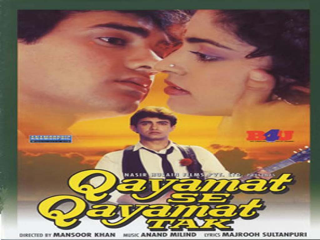 Most Popular Videos: Qayamat Se Qayamat Tak Video Song