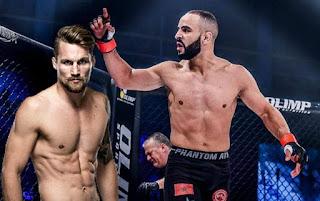 عثمان زعيتر يخوض أول نزال في UFC