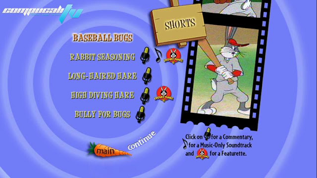 Looney Tunes Lo Mejor de Bugs Bunny DVDR NTSC Español Latino 2012