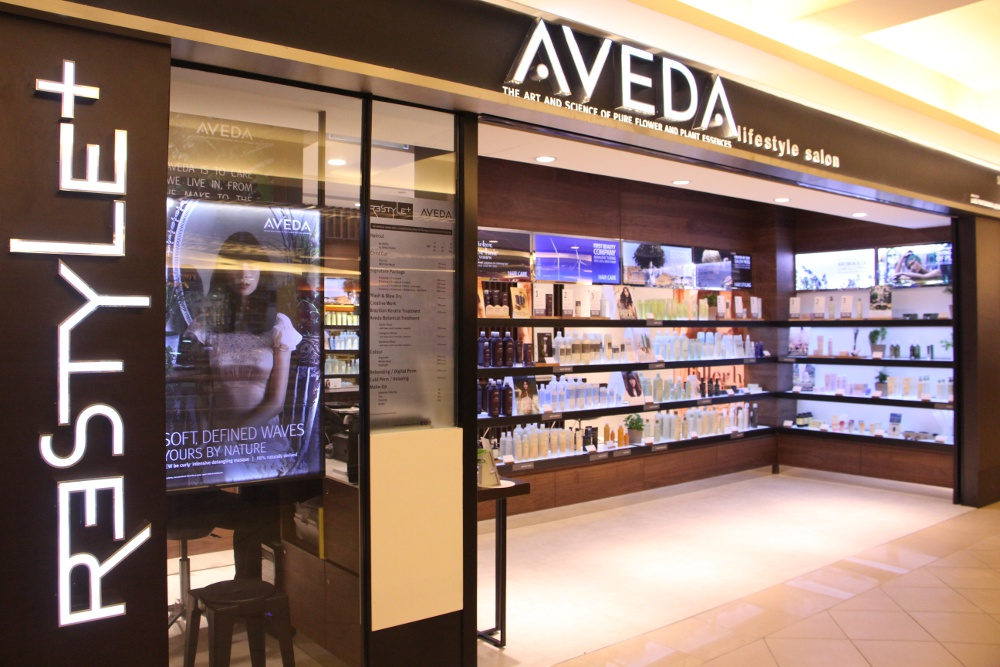 Aveda lifestyle salon restyle at mid valley megamall for 76 salon mid valley