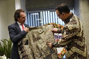 Mengagumkan, Kegiatan Pertama 'Gubernur Indonesia' di Kolombia