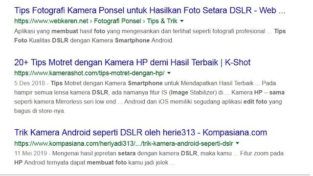Bisakah Hasil Foto Kamera Ponsel/Smartphone Sama Dengan Kamera DSLR/Mirrorless ?