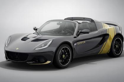 2020 Lotus Elise Exemplary Legacy Versions celebrate past race vehicle uniforms