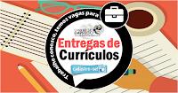 ENTREGA DE CURRÍCULOS - MOTORISTA, VERIFICADOR, TÉCNICOS, AFERIDOR E EXECUTOR