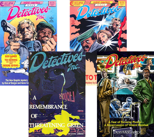 Detectives Inc. series covers