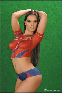 best body painting soccer art body painting world cup 2014. Black Bedroom Furniture Sets. Home Design Ideas
