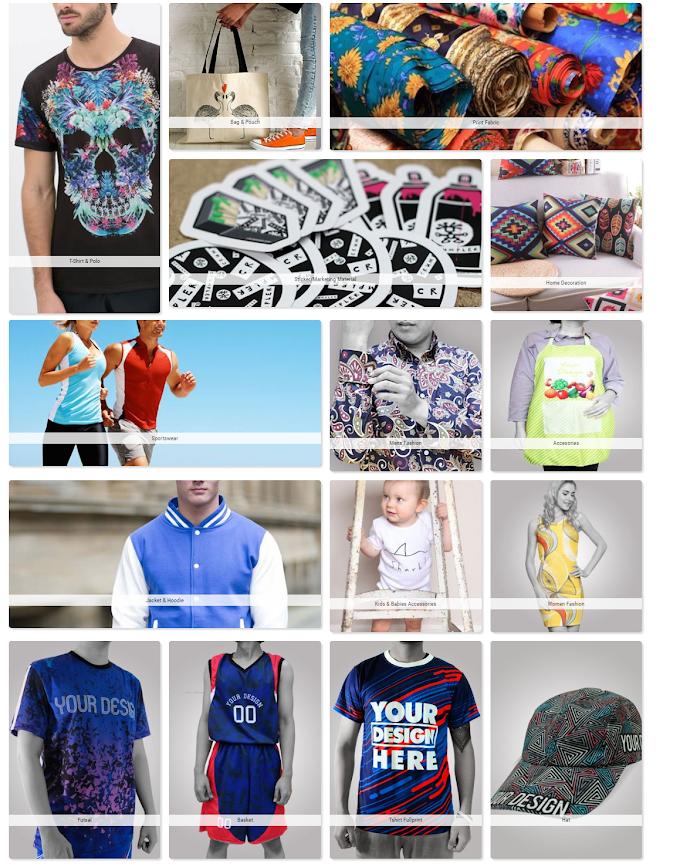 Design Sendiri Baju atau Fabrik Lain di Custom My