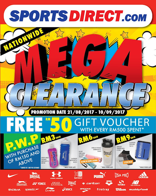 Sports Direct Nationwide Mega Clearance Sale Discount Offer Promo
