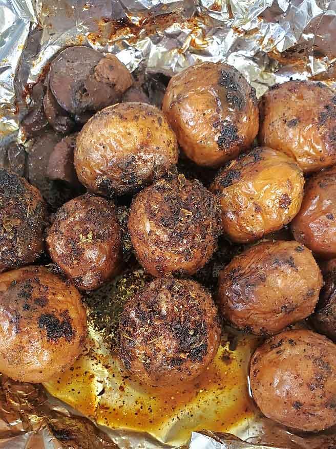 how to make Utica  New York style salt potatoes