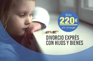 Divorcio exprés con hijos y bienes en Sevilla