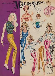 Mating season, pinup art, vintage fashion,Vintage clothing,
