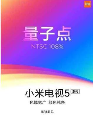 Penampakan Xiaomi Mi TV 5 Bocor ke Publik