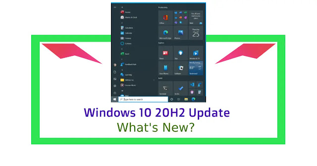 Windows 10 20H2 Update: What's New?