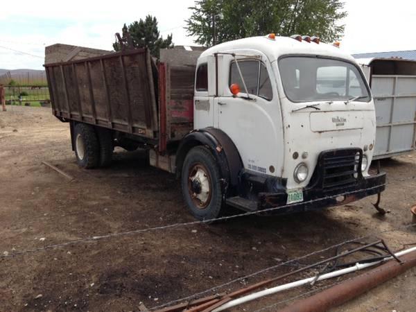Nice Old Truck, 1957 White 3020 Tilt Cab