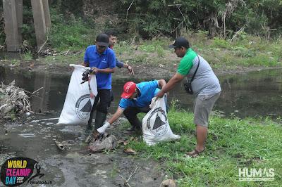 Serentak, Masyarakat Trenggalek Ikut Aksi World Clean Up Day 2019