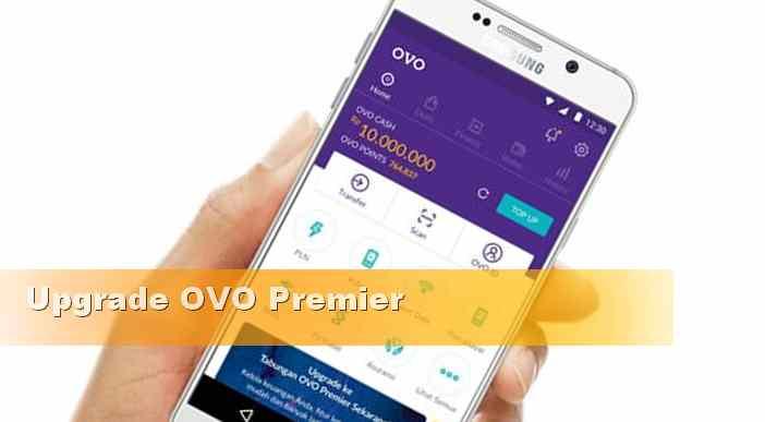 masalah gagal upgrade OVO premier katu tidak berlaku