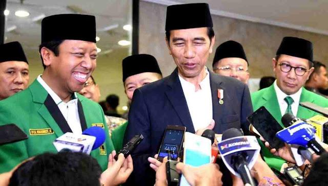 Foto Romi dan Jokowi