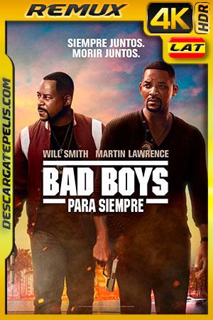 Bad Boys para siempre (2020) 4k BDRemux HDR Latino – Ingles