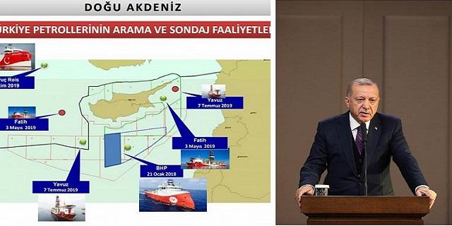 Με χάρτες και δηλώσεις η Τουρκία συντηρεί την ένταση στην Ανατολική Μεσόγειο