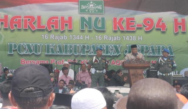 Kiai Said: Pakai Gamis Kayak Kanjeng Nabi Bukan Untuk Shalat Malah Buat Demo