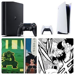 PS4が農夫だとすると PS5はポッドから出た孫悟飯