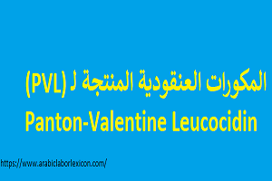 المكورات العنقودية المذهبة المنتجة للذيفان  Panton-Valentine Leucocidin (PVL)