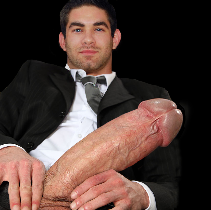 gigantic monster huge thick cocks - One Big Thick Super Heavyweight Dick & One Big Gorgeous Oversexed Guy! He's  Ready to Shoot a Huge Load, Are You?