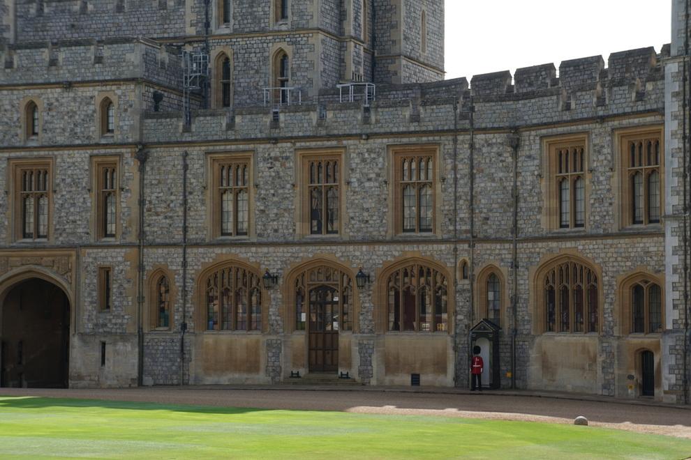 Troca da Guarda em Windsor, Inglaterra