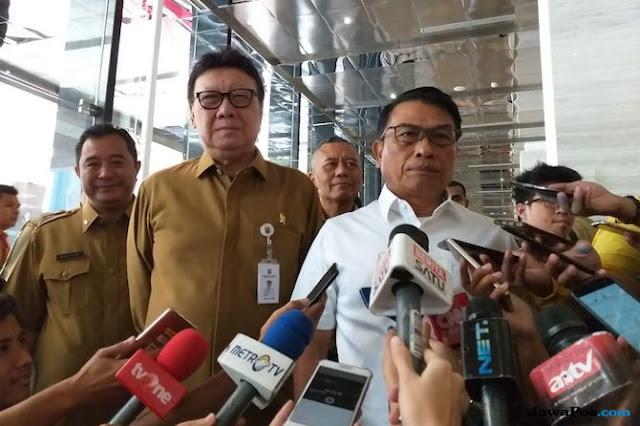 Catat, Moeldoko Minta PNS Kemendagri Kampanyekan Keberhasilan Jokowi