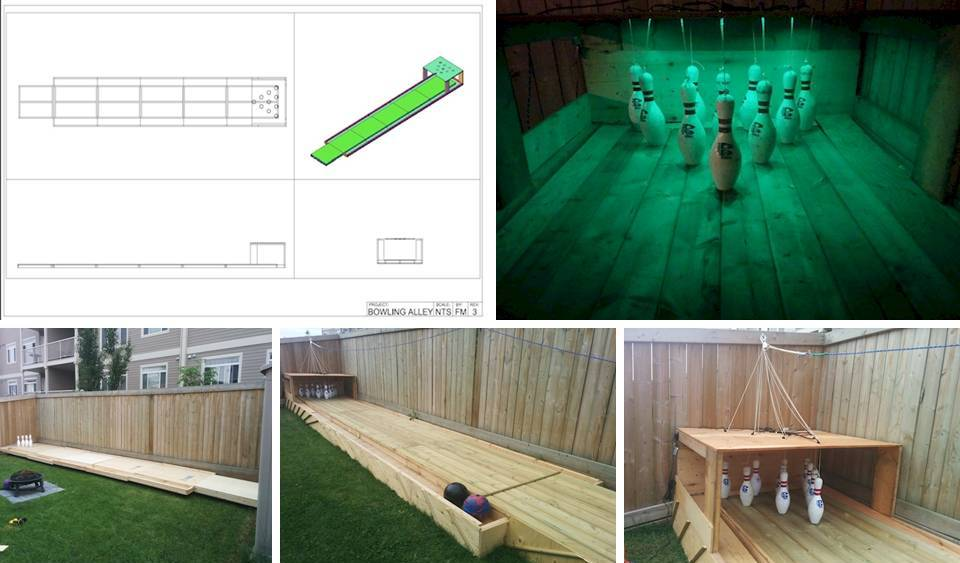 0 Cheap And Simple Do Some DIY Backyard Bowling And Never Be Bored Again Interior