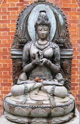 Female Buddha figure