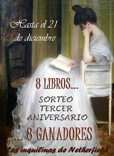 http://inquilinasnetherfield.blogspot.com/2018/11/tercer-aniversario-y-sorteo-de-8-libros.html
