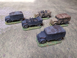 Plastic Soldier Company's Steyr heavy Trucks