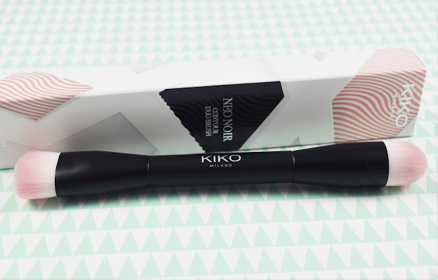 Kiko Neo Noir Contour Duo Brush