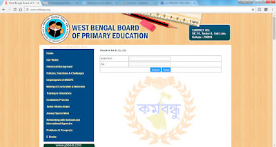 Check D.El.Ed Result Published by WBBPE