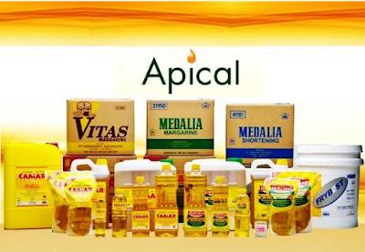 Database distributor minyak goreng Apical