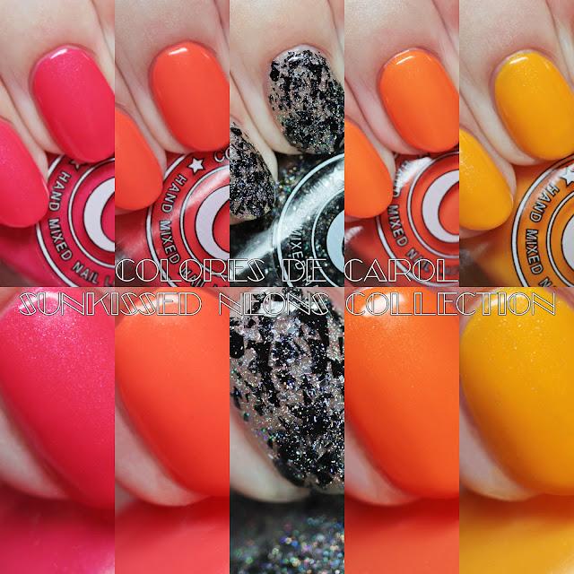 Colores de Carol Sunkissed Neons Collection