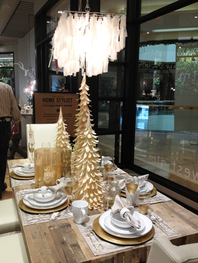 West Elm Christmas Display.Belle Maison West Elm Opens A New Location In Orange County