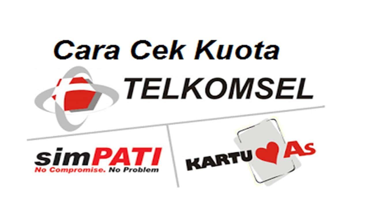 Tutorial Cek Kuota Telkomsel 4G LTE Simpati, Flash, Loop, Kartu As