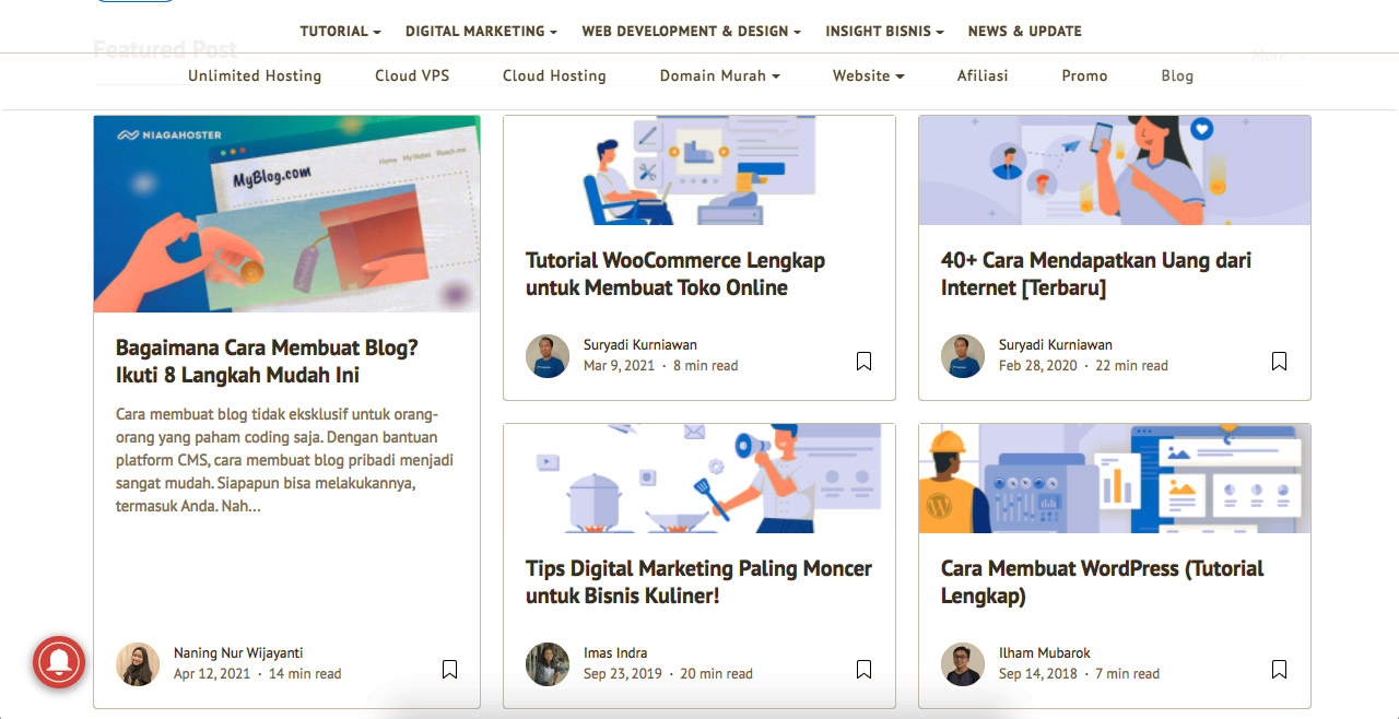 Tutorial Blogging Super Lengkap Untuk Para Blogger