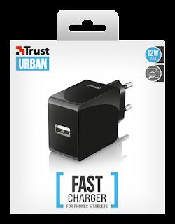 trust urban caricabatteria 12w rapida 21710